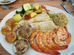 Fasting on seafood