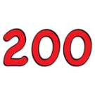 200 red