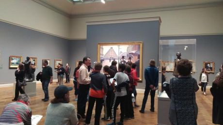 First Impressionist room