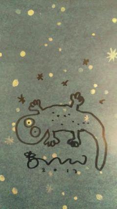 Brendan Wenzel autograph