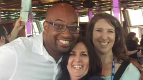 Kwame Alexander and fans