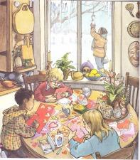 Child's Calendar interior